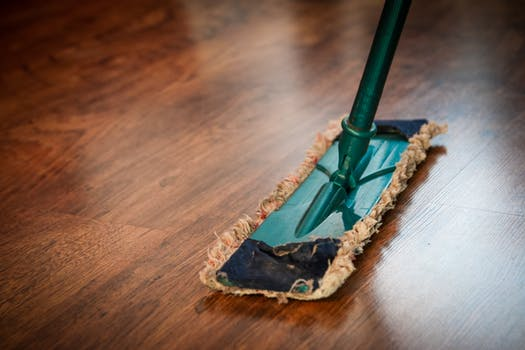 how to clean a house fast