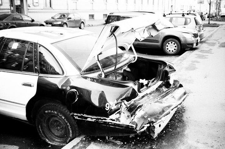 most common types of car accidents