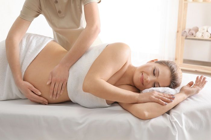 Pregnant Lady Massage