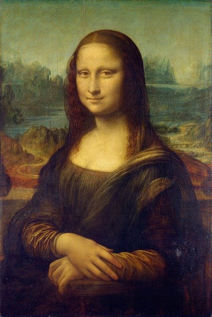 Monalisa oil painting