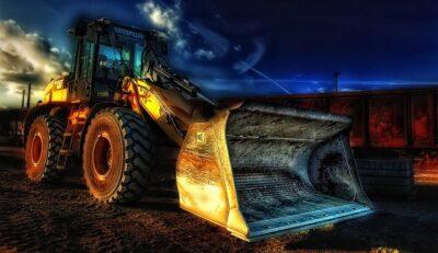 excavator construction tool
