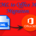 Export or Migrate EML to Office 365 from EML based email client